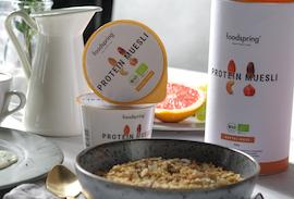 Wir begrüßen foodspring als neuen Partner